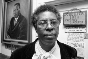 Madgelean Bush - founder of Martin Luther King Jr. Community Center - 1987