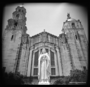 Bascilica of the National Shrine of the Little Flower - San Antonio TX  7-2015