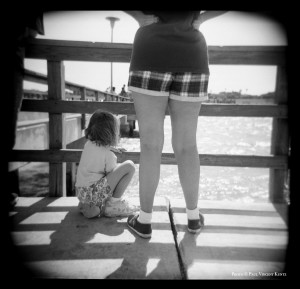Mother and daughter - Corpus Christi TX  4-1998