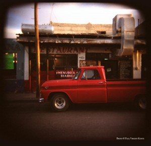 Red-truck - Ojinaga Mexico  3-2000