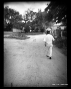 Walking - Chimayo NM  6-1997