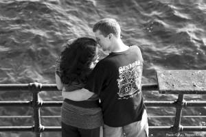 Lovers - Santa Monica Pier - Santa Monica CA  5-14-2010